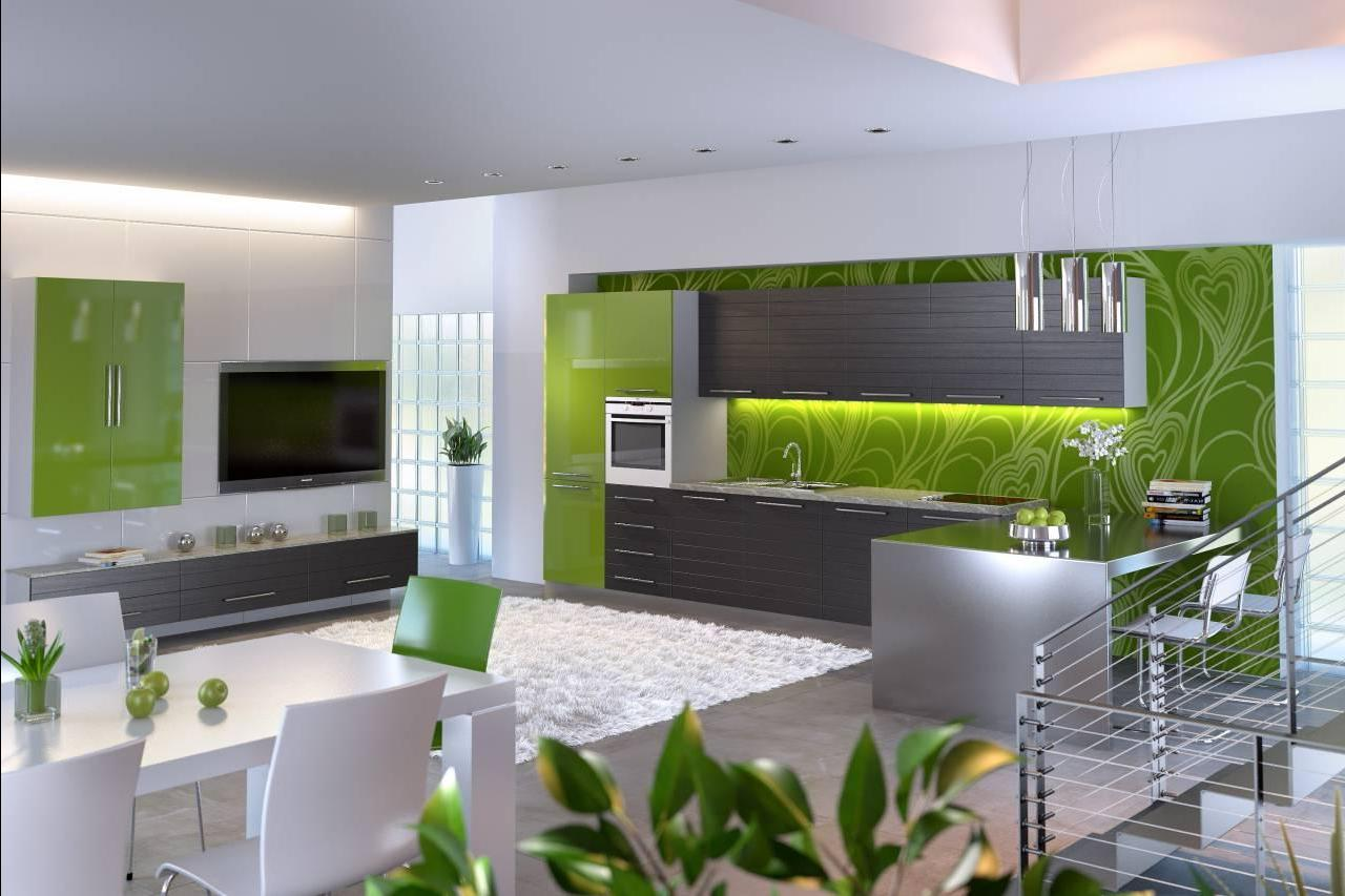 Сочетание цветов серый в интерьере кухни